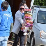 Dropping Off Donations